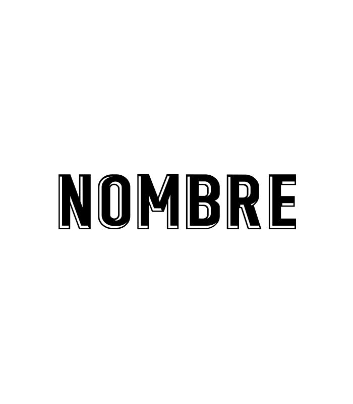 Nombre Vinilo/Sublimación Serigrafía
